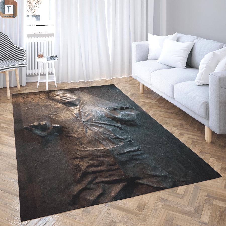 Star wars han solo carbonite area rug 1