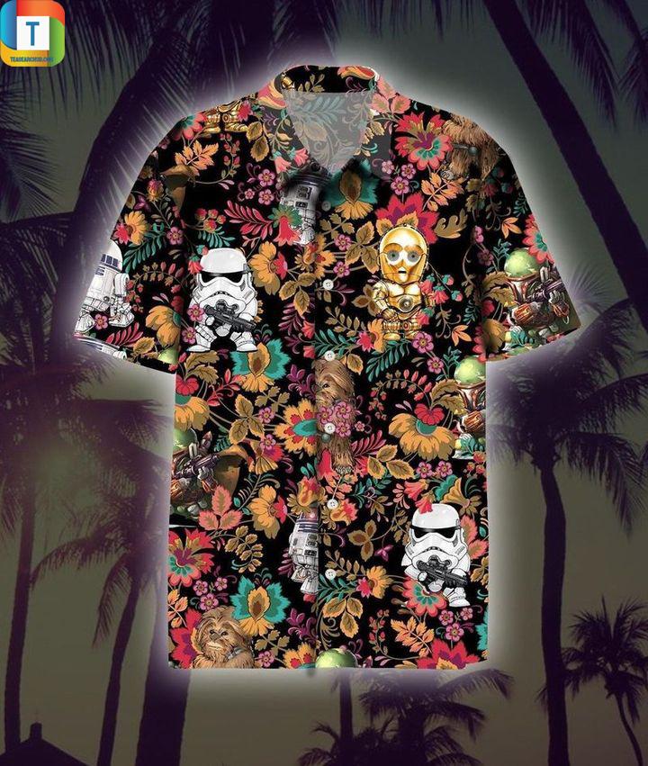 Star wars stormtrooper hawaiian shirt