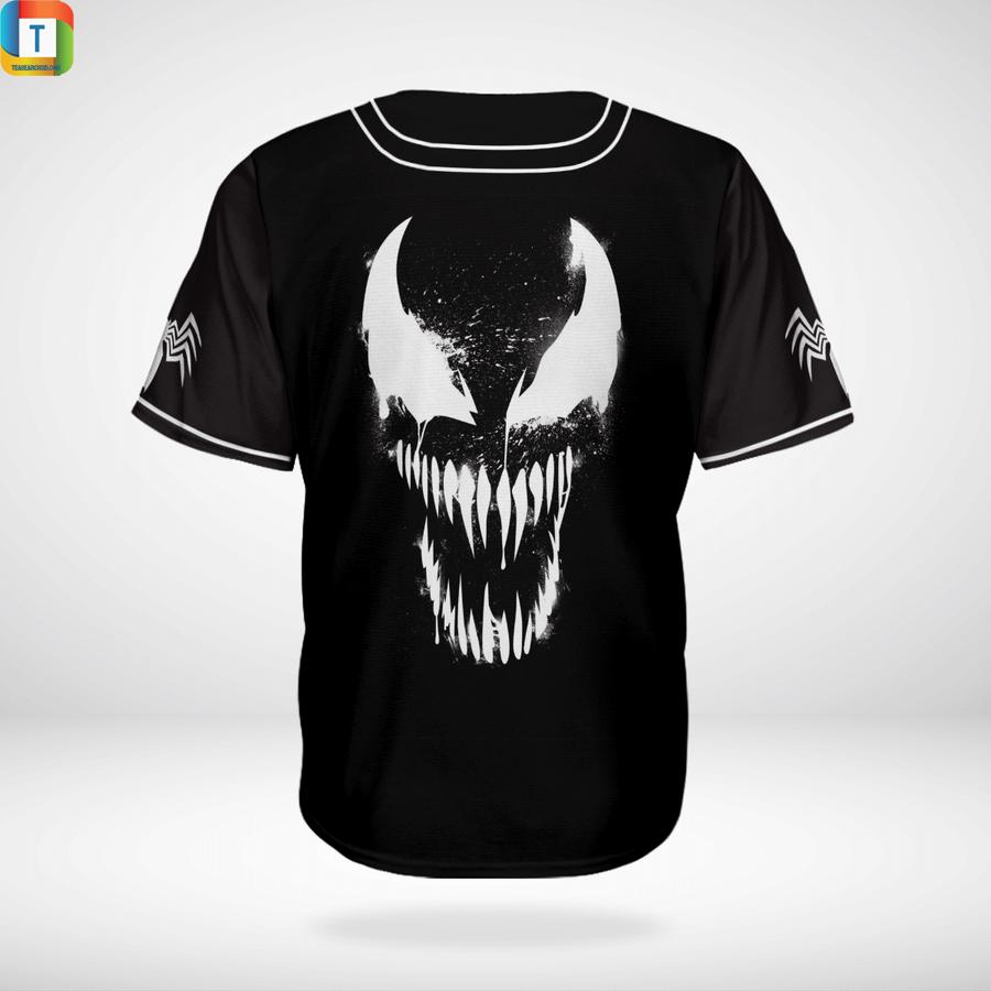 Vernom Marvel baseball jersey shirt 1