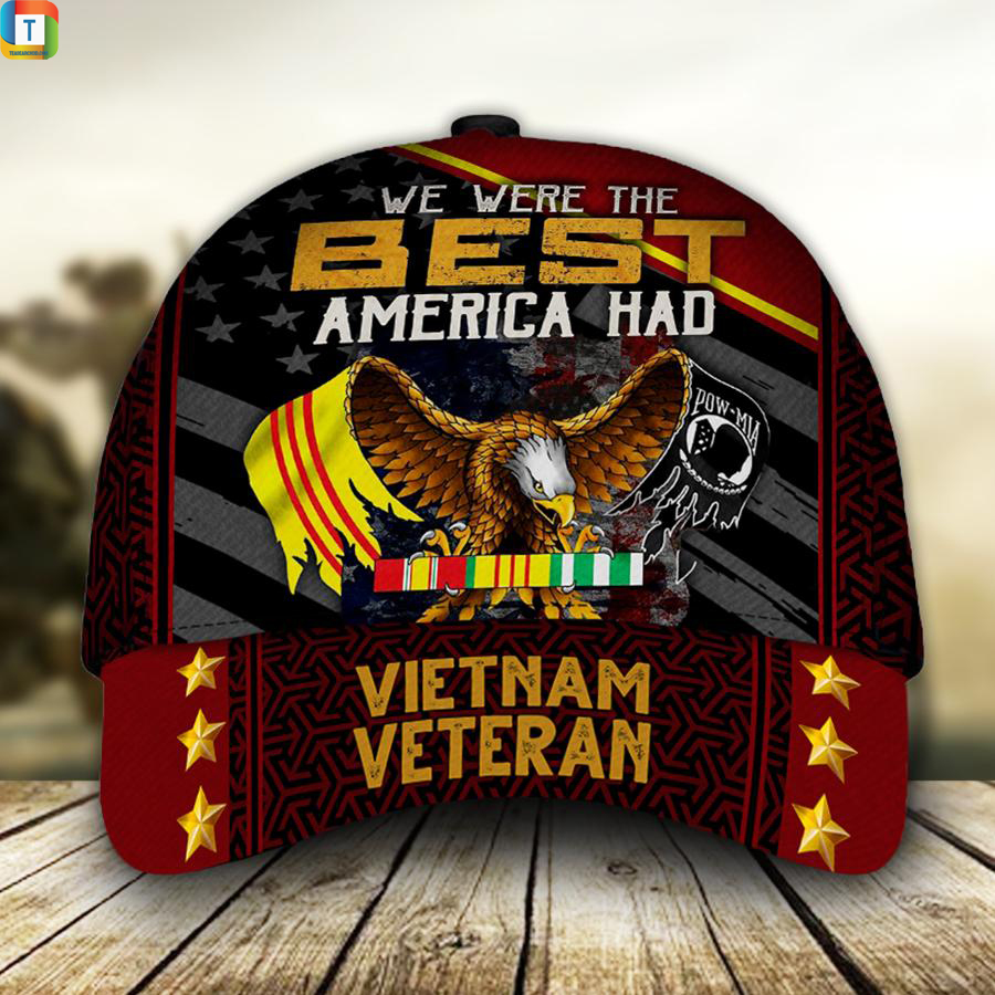 Vietnam veteran we were the best america had classic cap hat