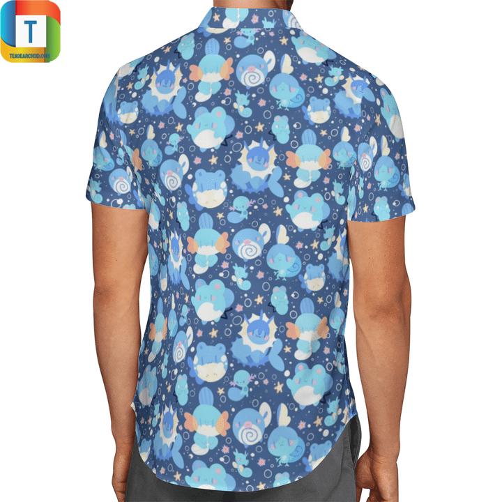 Water type pokémon hawaiian shirt 2