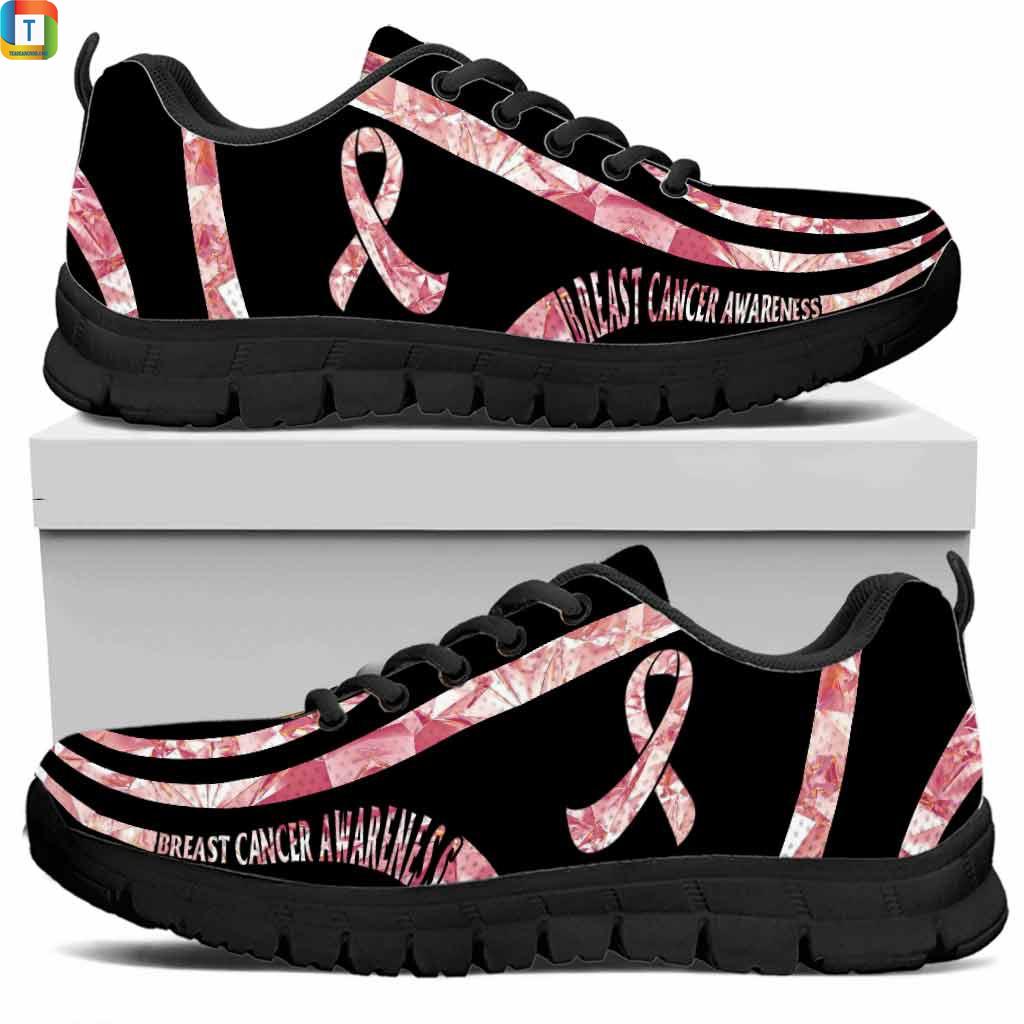 Breast Cancer Awareness Sneakers Low Top Sneaker 2