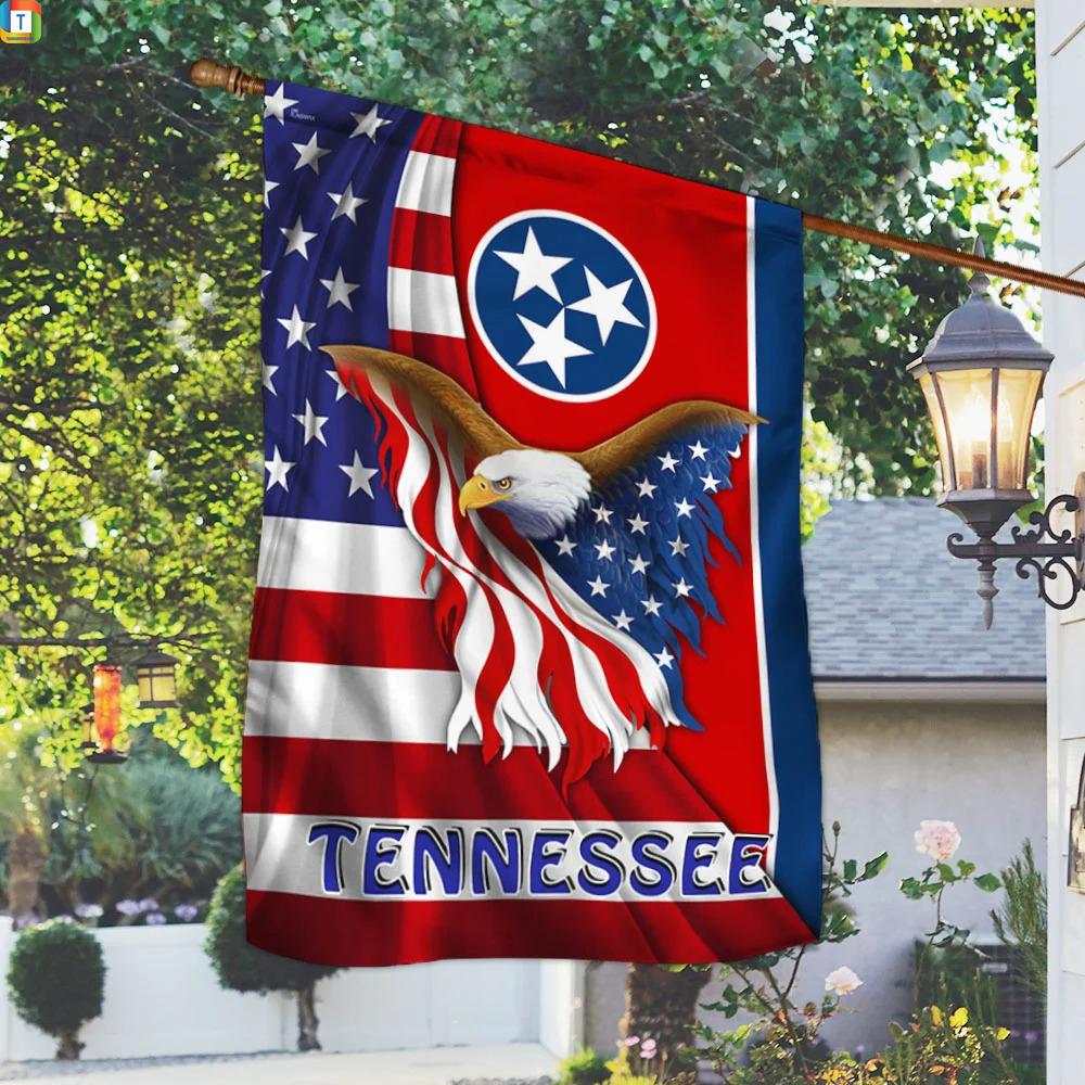 Tennessee Eagle Flag 1