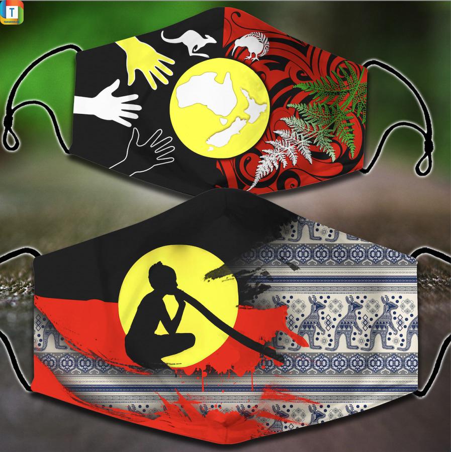 Aboriginal Australians Face Mask
