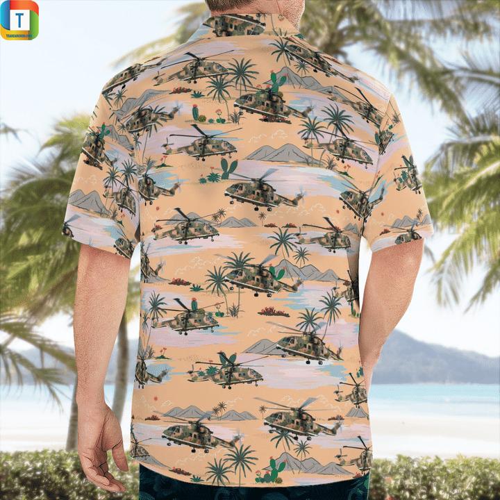 Agustawestland aw101 portuguese air force hawaiian shirt 2