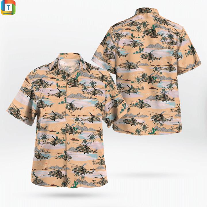 Agustawestland aw101 portuguese air force hawaiian shirt