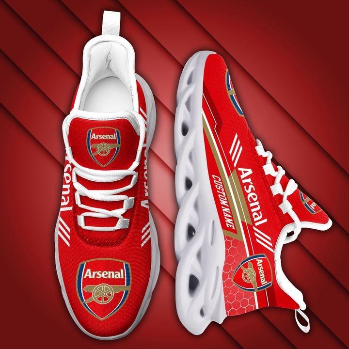 Arsenal Custom Name Max Soul Sneaker