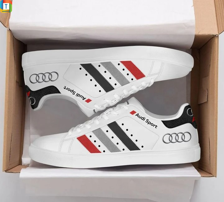 Audi sports stan smith low top shoes