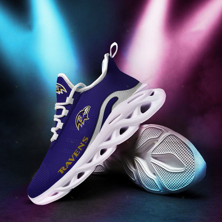 Baltimore Ravens NFL Clunky Shoes
