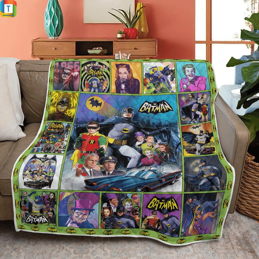 Batman 1966 tv series quilt blanket 2