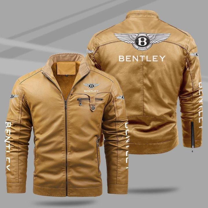 Bentley Fleece Leather Jacket