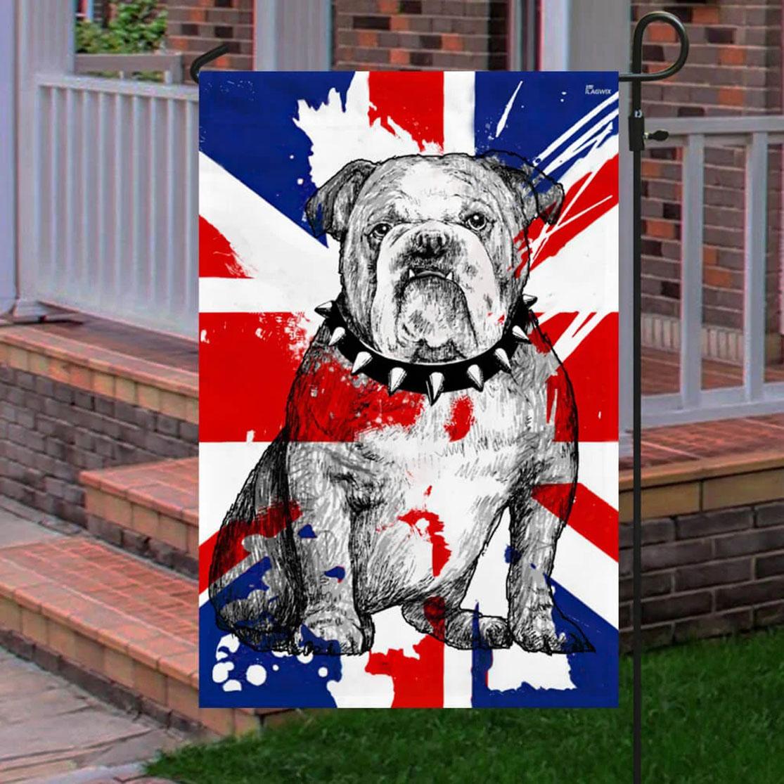 British Bulldog Flag UK Proud