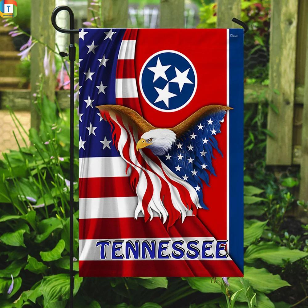Tennessee Eagle Flag 3