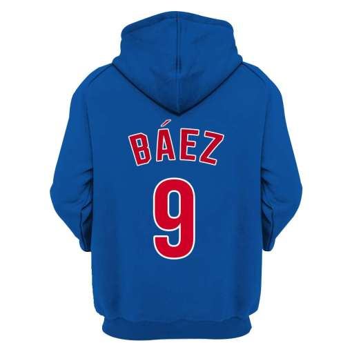 Chicago Cubs Custom Name And Number Unisex Hoodie And Shirt