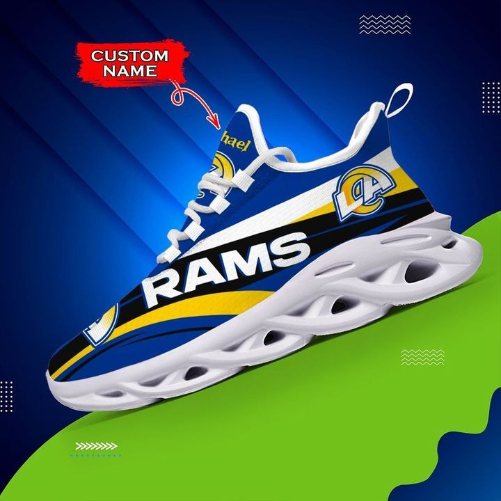 Customize Los Angeles Rams Running Shoes