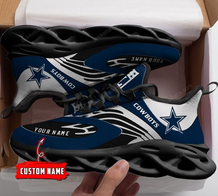 Dallas Cowboys Personalized Max Soul Shoes