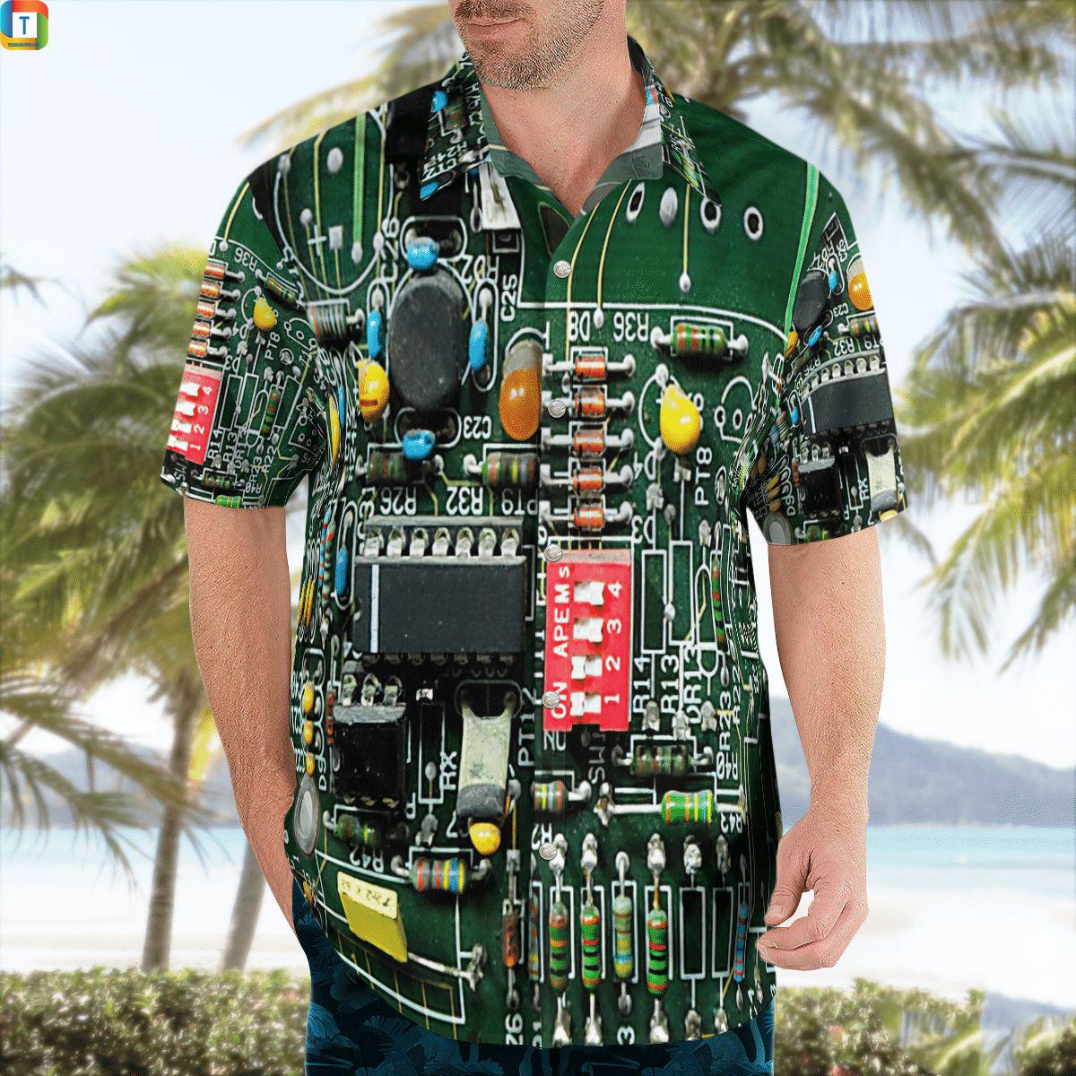Electric Engineer Hawaiian Shirt