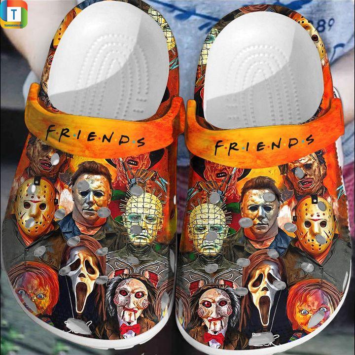Friends show horror character Halloween crocs crocband clog