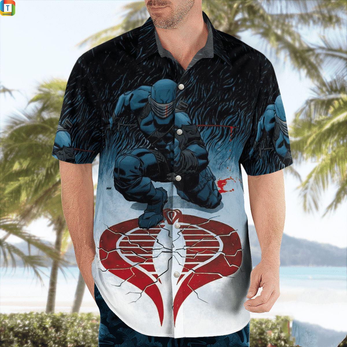G.I Joe Cobra Hawaiian Shirt