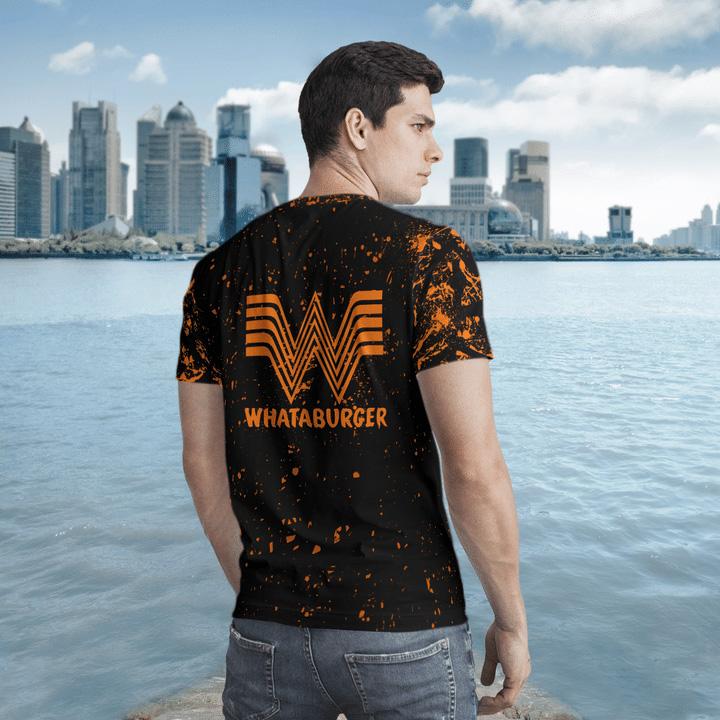Halloween Whataburger Bleached Jason Voorhees Michael Myers 3D T-Shirt