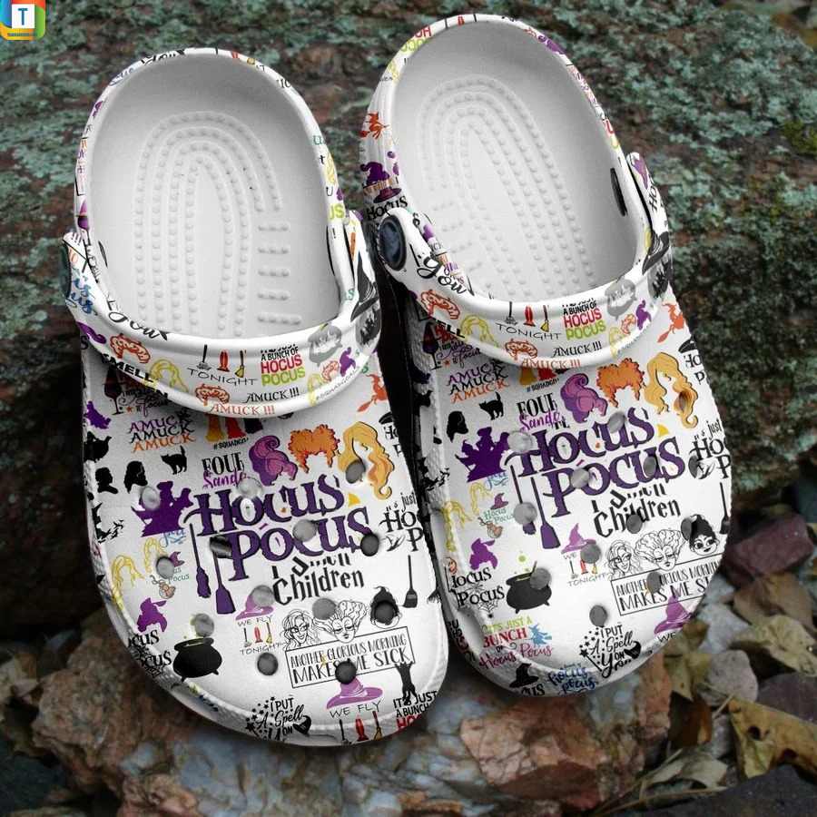 Halloween hocus Pocus crocs crocband shoes