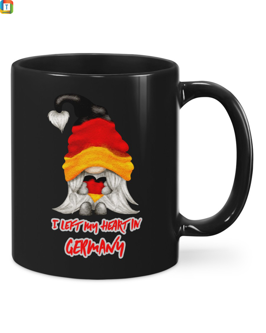 I left my heart in germany mugI left my heart in germany mug