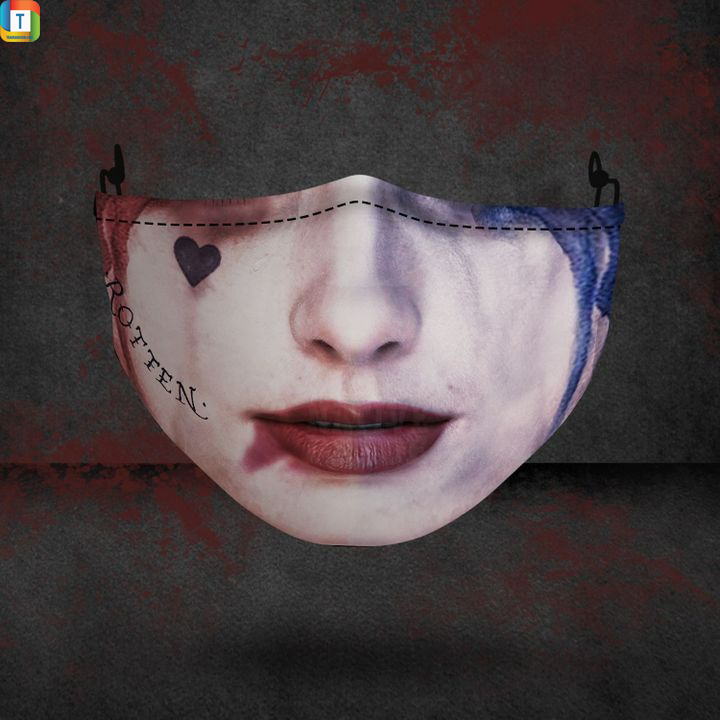 Harley quinn halloween 3d face mask face cover