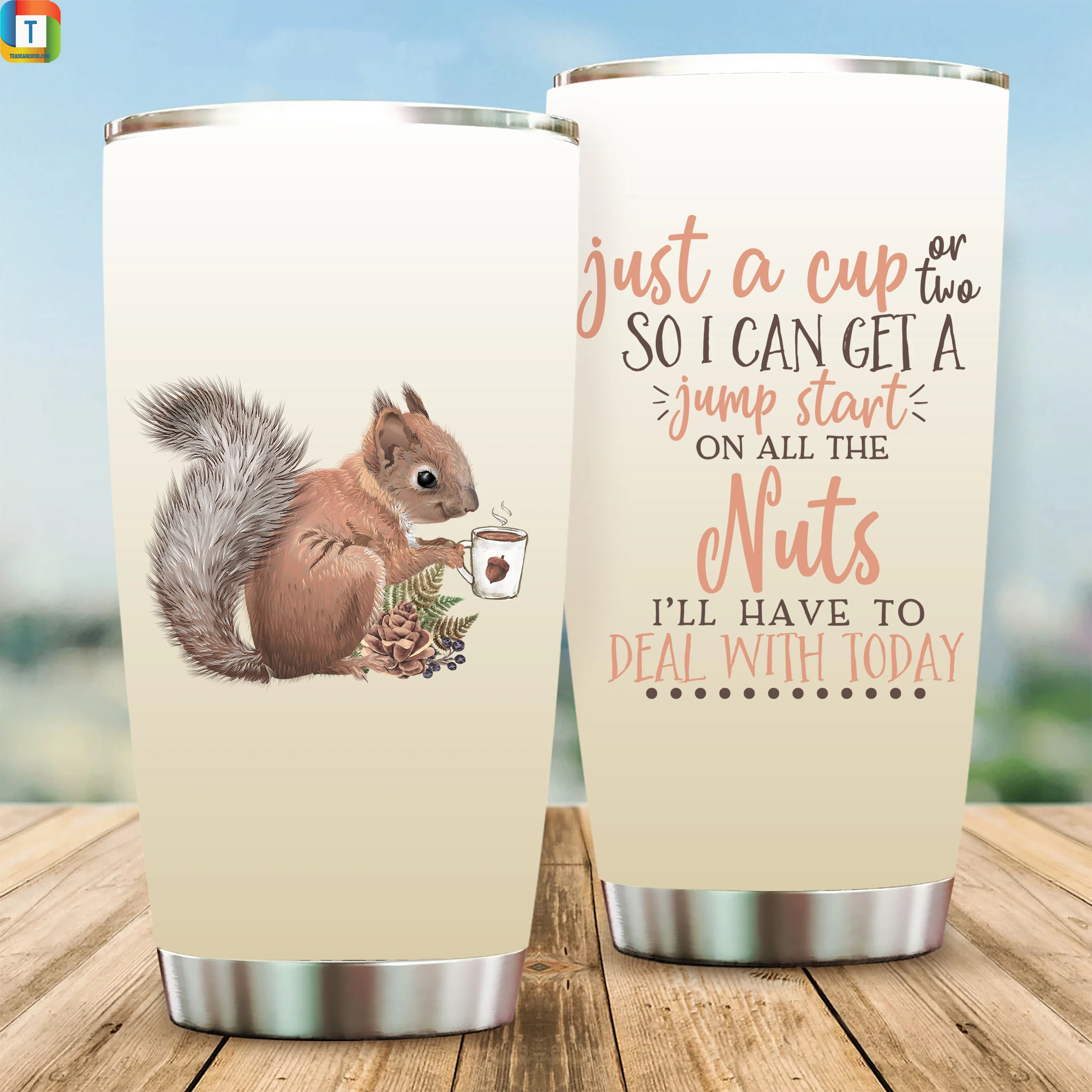 Just a cup or two so I can get a jump start on all the nuts tumbler
