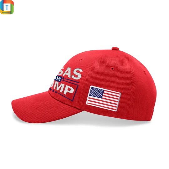 Kansas For Trump Embroidered Hat 1