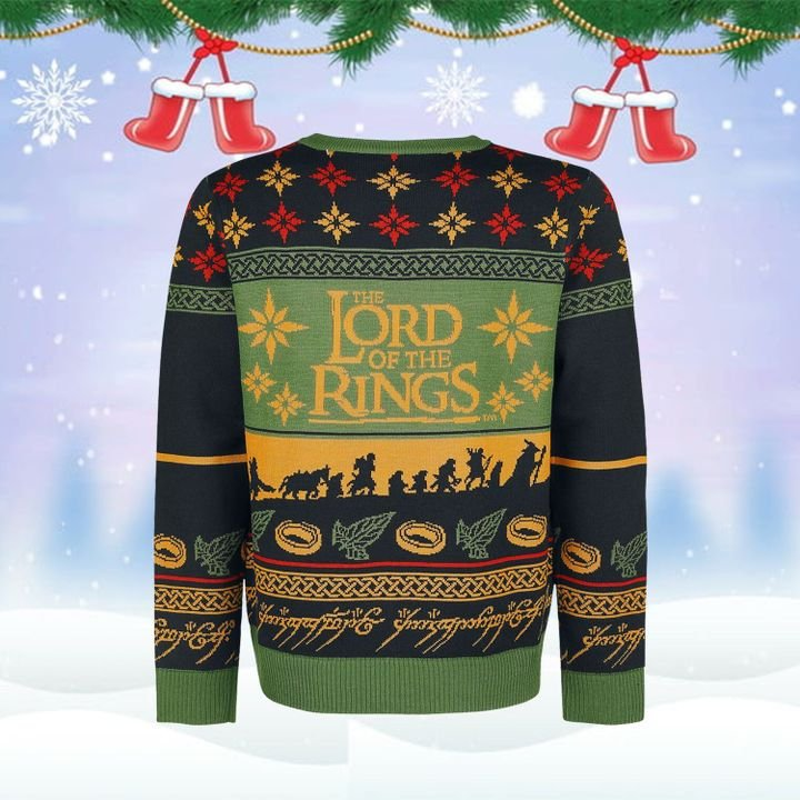 Lord Of The Ring 3D Ugly Christmas Sweatshirt 2021
