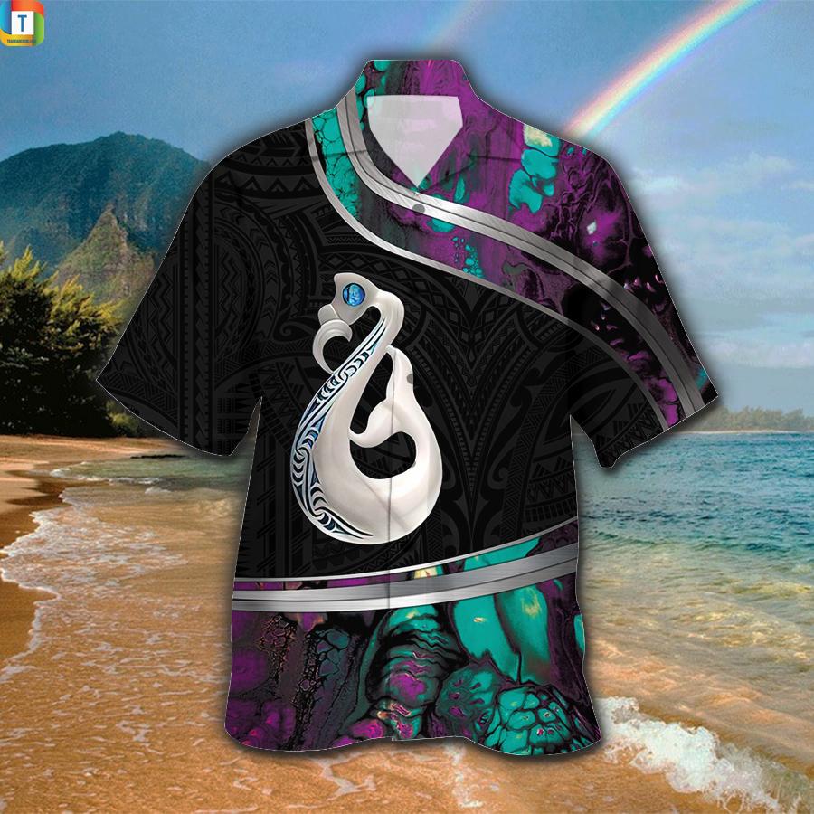 Manaia Maori Hawaiian Shirt