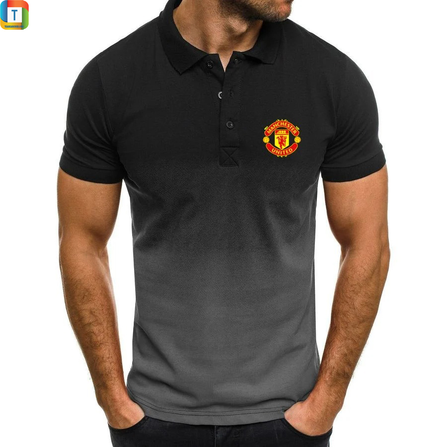 Manchester United FC gradient polo shirt 1