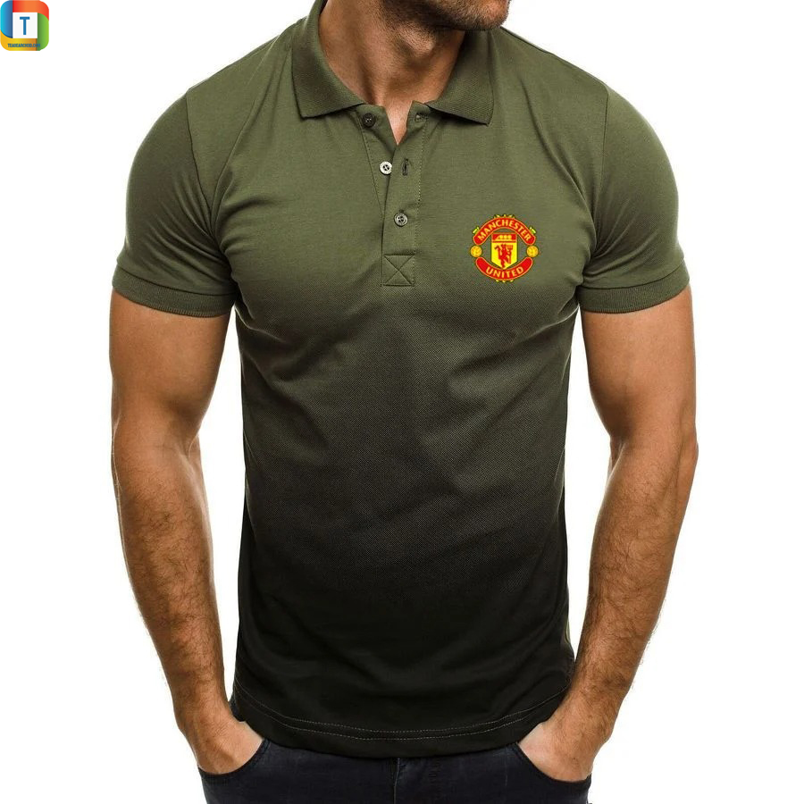Manchester United FC gradient polo shirt 2