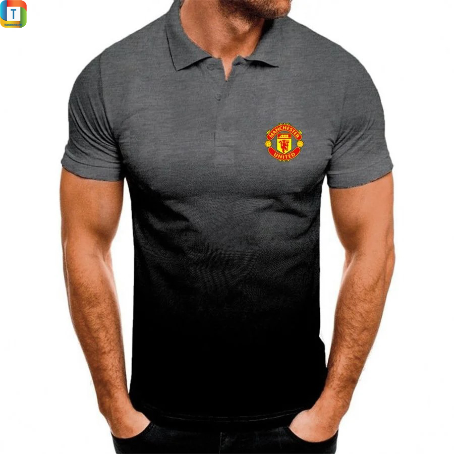 Manchester United FC gradient polo shirt 3