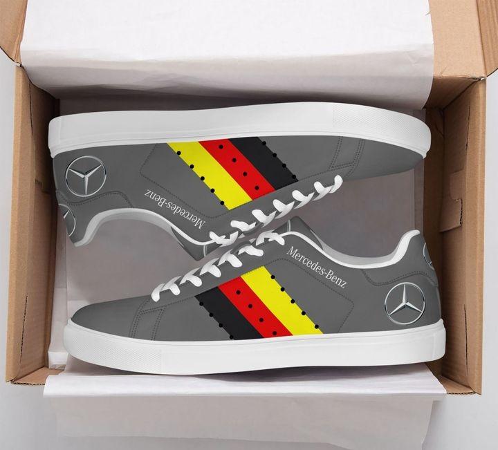 Mercedes Benz Grey Adidas Stan Smith Shoes
