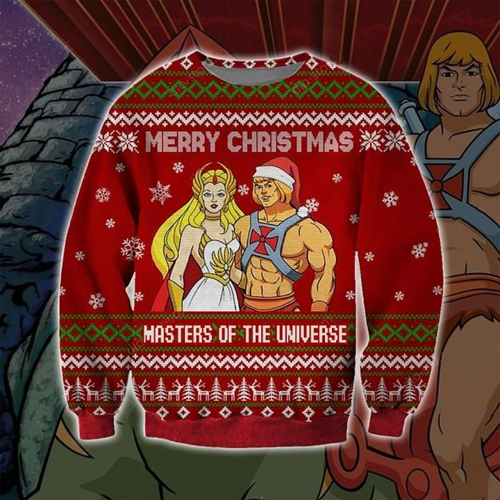Merry Christmas Masters Of Universe 3D Ugly Sweater