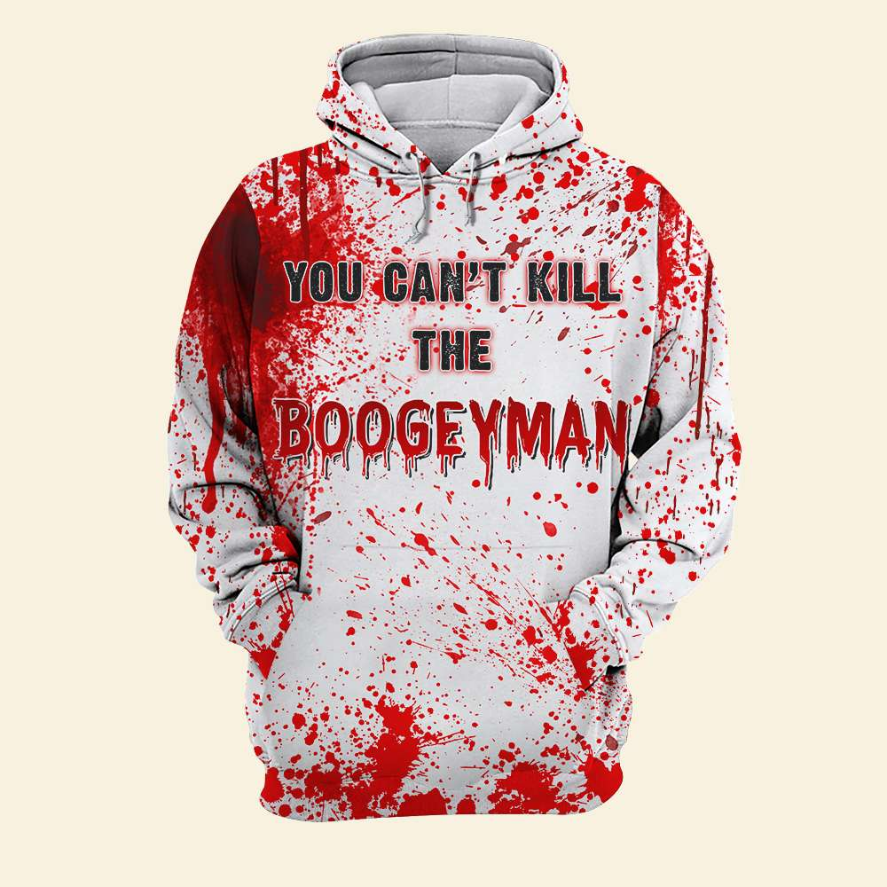 Michael Myers You Can't Kill Boogey Man 3D Shirt