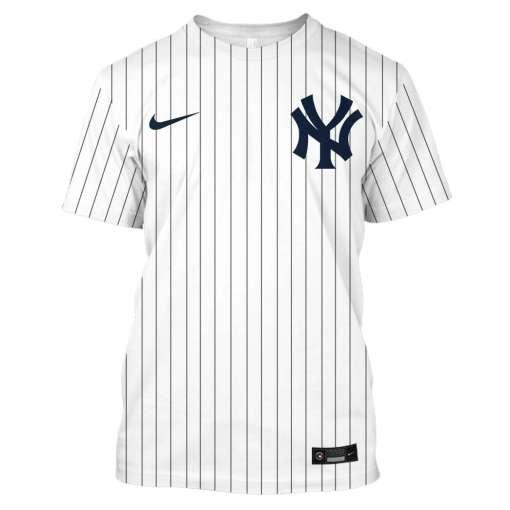 New York Yankees Custom Name And Number 3D Unisex Shirt Hoodie