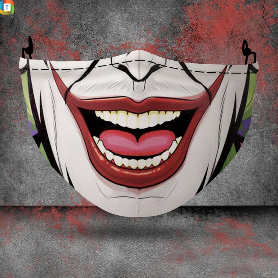 Joker halloween 3d face mask face cover