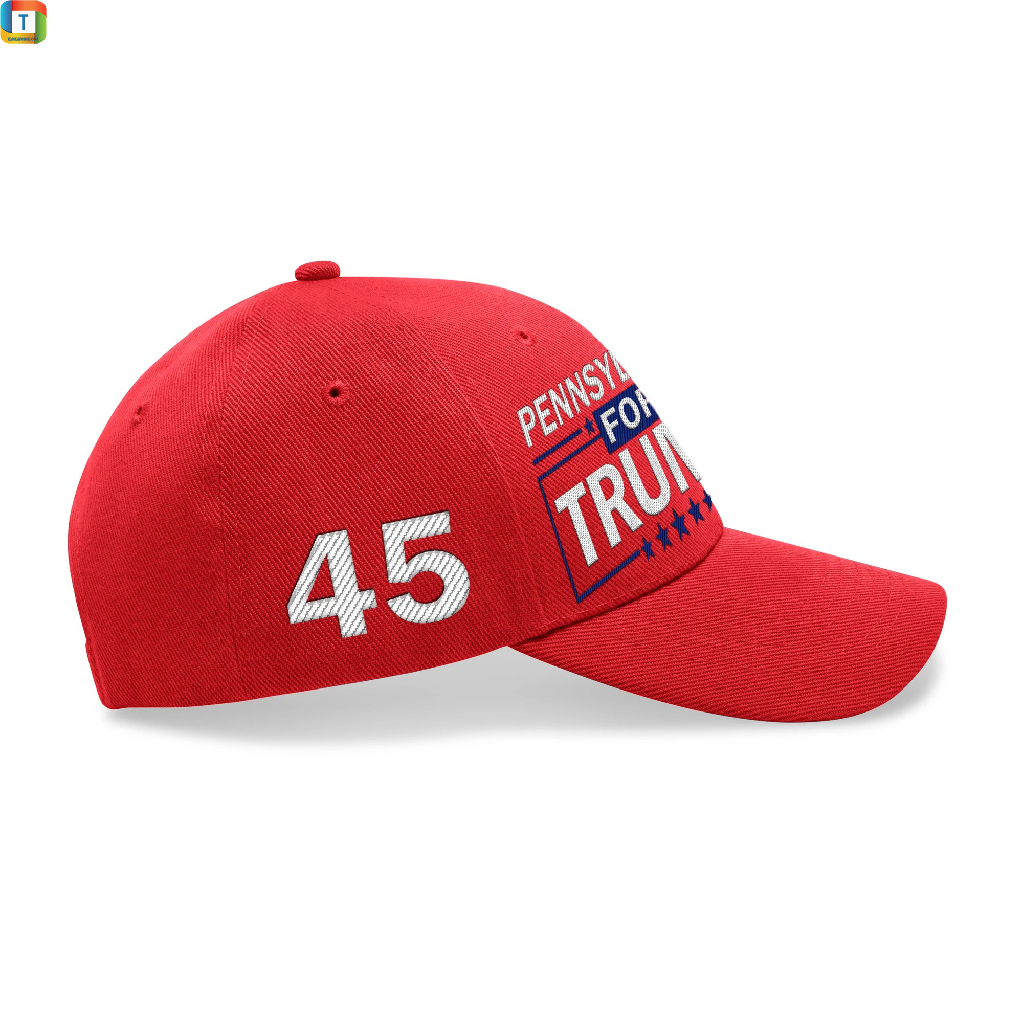 Pennsylvania For Trump Embroidered Hat 3