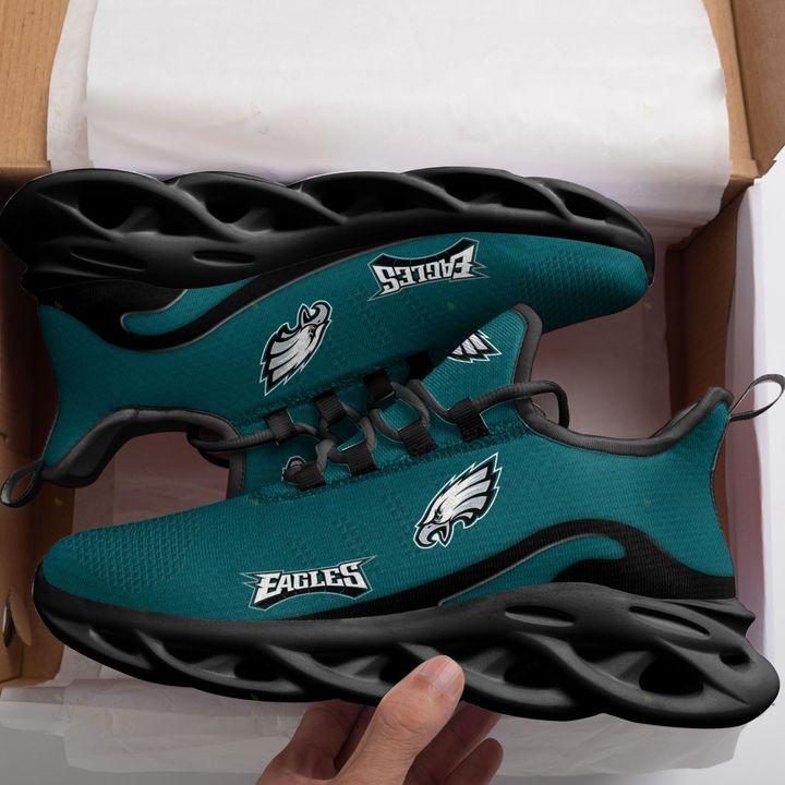 Philadelphia Eagles Max Soul Running Shoes