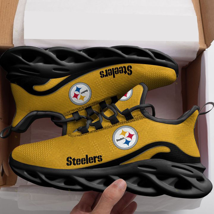 Pittsburgh Steelers Max Soul Running Shoes