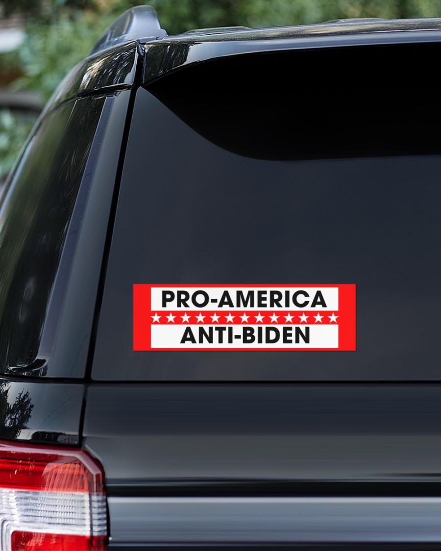 Pro america anti-biden sticker 1Pro america anti-biden sticker 1