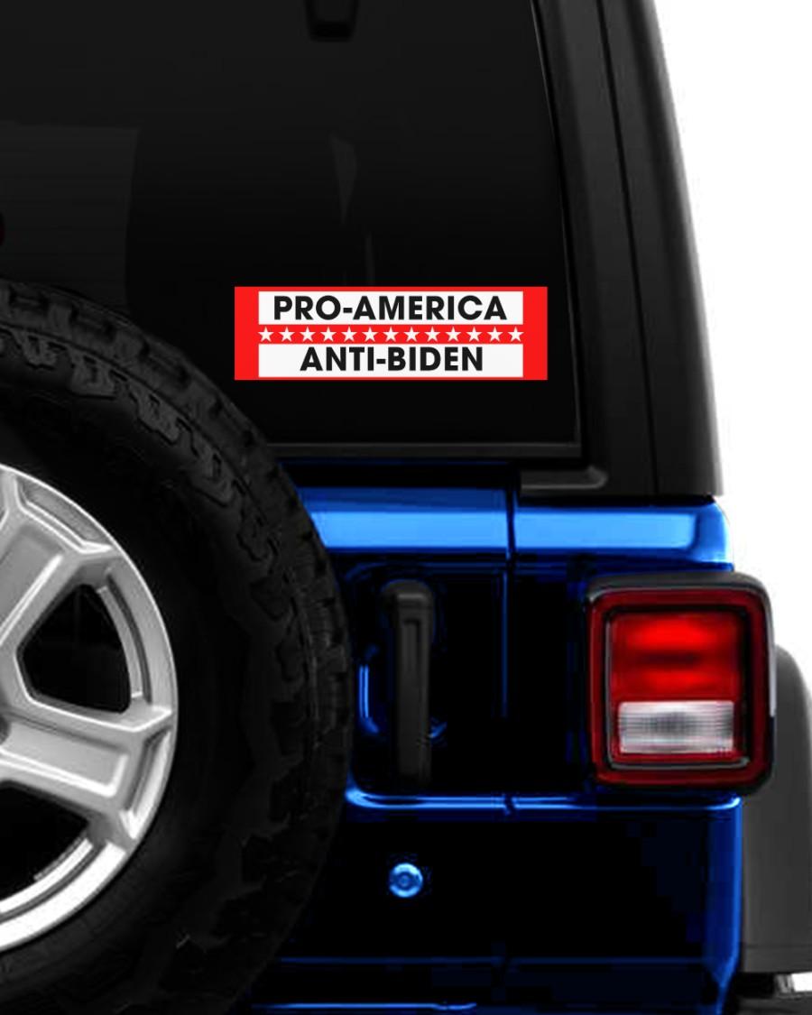 Pro america anti-biden sticker 2Pro america anti-biden sticker 2