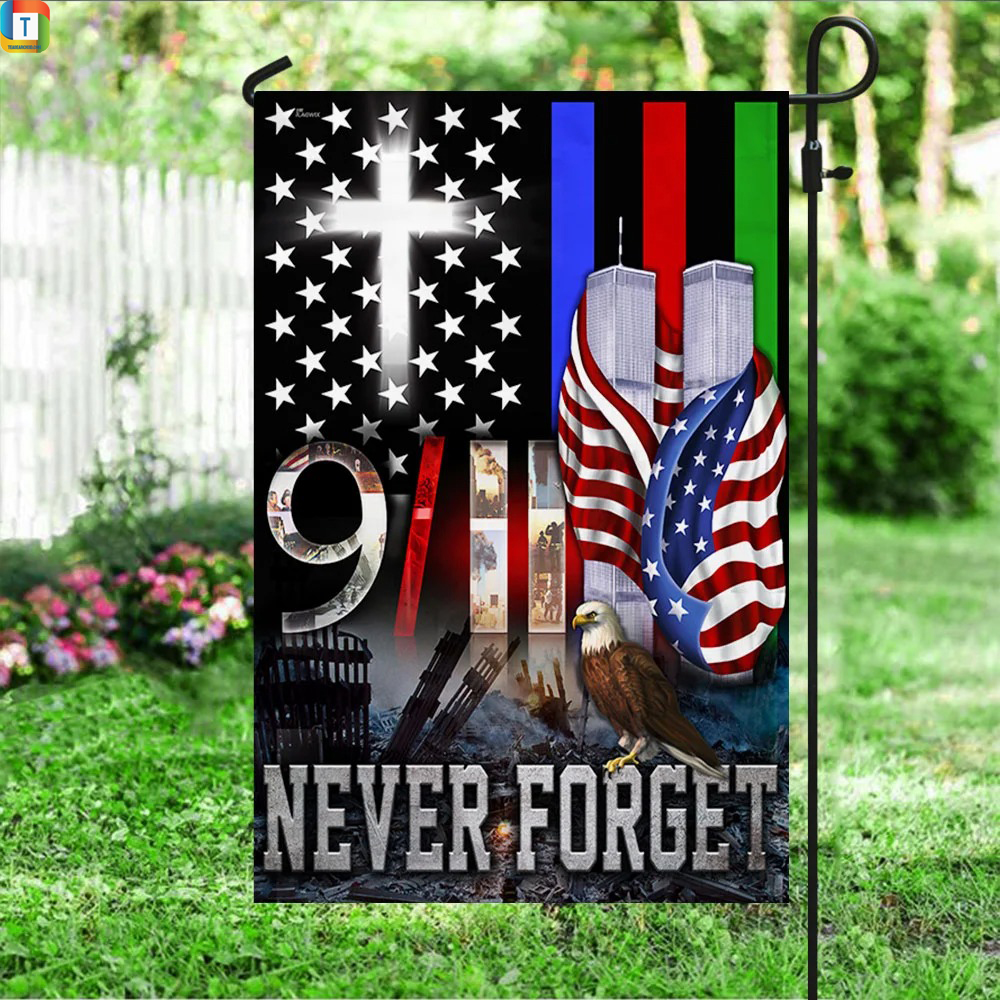 Police military and fire thin line 9 11 flag 2