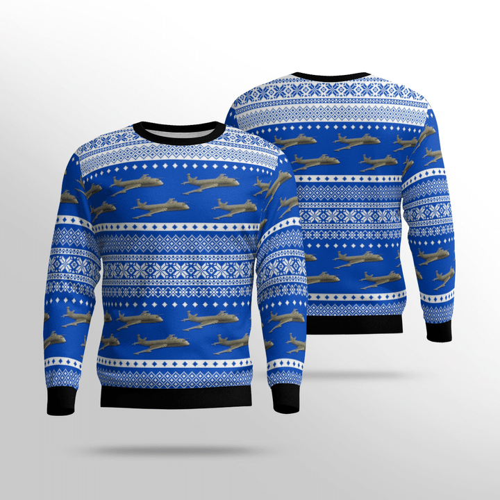 Raf Historical Nimrod Mr 2 Ugly Sweater
