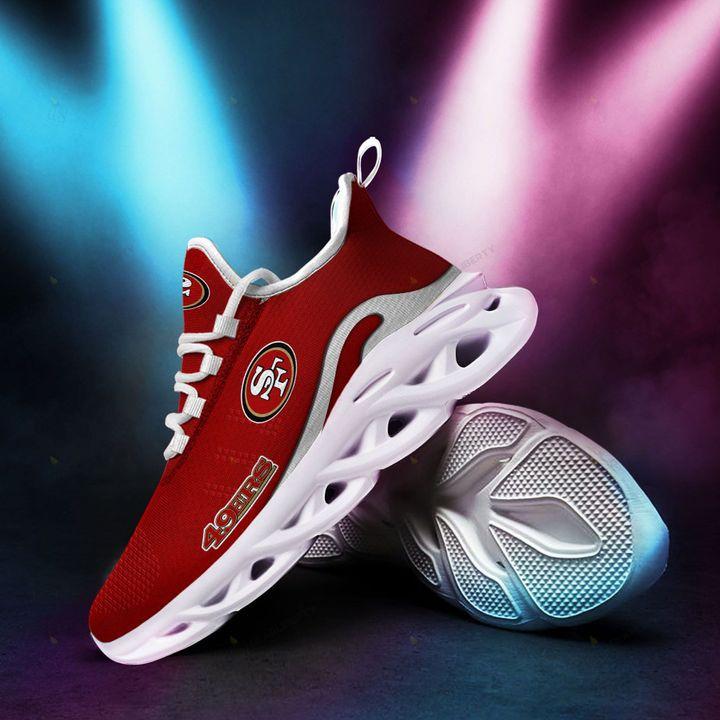 San Francisco 49ers Max Soul Running Shoes