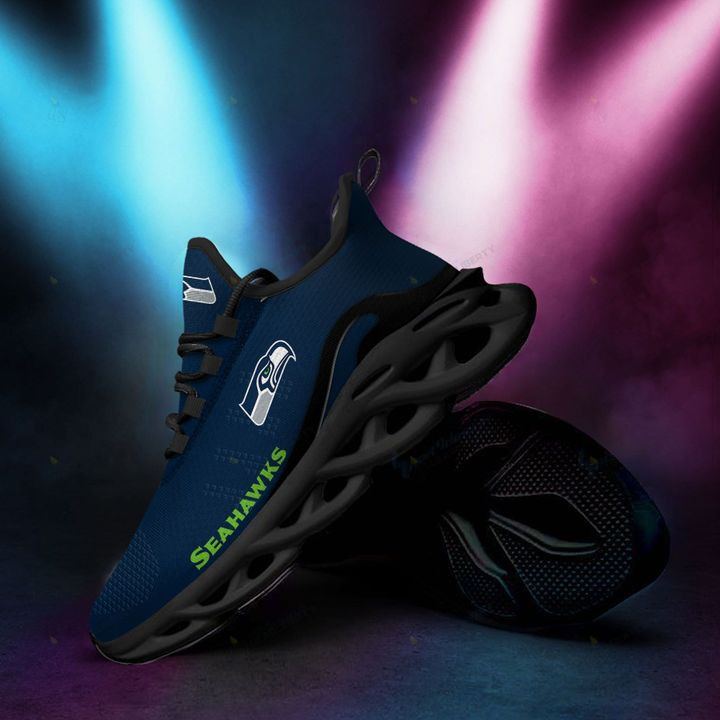 Seattle Seahawks Max Soul Running Shoes
