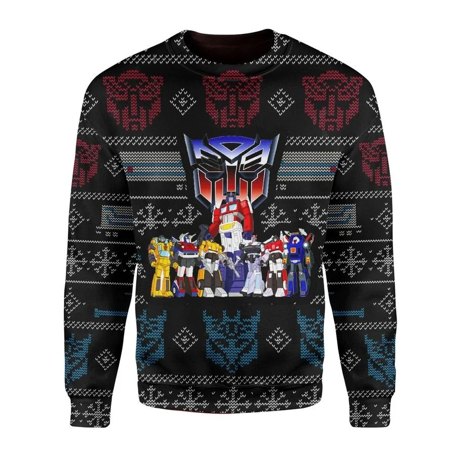 Transformers Robot Movies Ugly Sweater 1