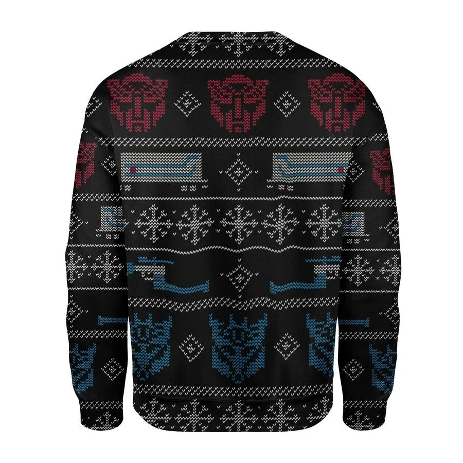 Transformers Robot Movies Ugly Sweater 2